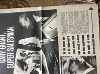 U2-1 ephemera 1971 picture article actor cary grant