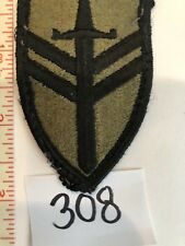 2nd Support Brigade US Army WWII WW2 Original Embroidered Patch  USA Stock # 308