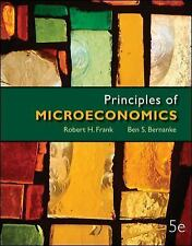 Principles of Microeconomics, by Frank, 5th Edition Very Good