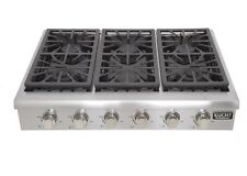 "Kucht Krt3618U 36"" Natural Gas Sealed Burner Style Cooktop in Stainless Steel"
