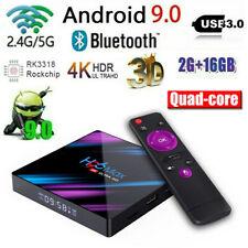 H96 Max Smart Android 9.0 TV Box 2GB RAM 16GB Quad Core 4K Wifi HD 1080P IPTV