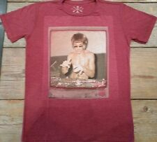 Bruce Lee DJ Dragon Brick Red T shirt Rayon Blend Gungfu  MMA Small left only!
