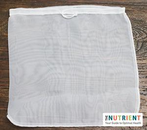 1 Premium Nut Milk Bag (LG) 12x12 Commercial Grade Pro Quality Reusable