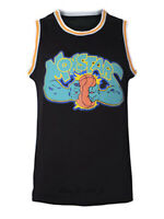 Monstars #0 Space Jam Men's Basketball Jersey Black Stitched