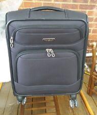 Samsonite StackIT Cabin Size Spinner Suitcase in Black
