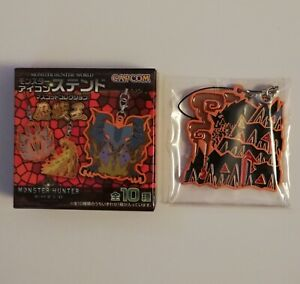 Monster Hunter World Arch Tempered Zorah Magdaros Stained Glass Icon Strap