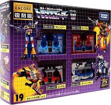 TAKARA TOMY TRANSFORMERS ENCORE 19 VOL.3 25 YEARS CASSETTE SET ACTION FIGRURE