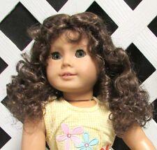 "Doll Wig Monique ""Laura"" size 10/11 in Lt Brown - fits Tonner Katie"