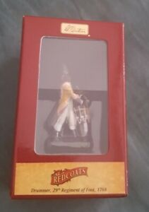 Britains,Drummer, 29th Regiment of Foot 44025 Redcoats series, gloss