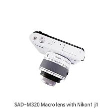 Macro Lens For Nikon J1,J2,J3,S1,V1,V2 Series with 10-30mm VR lens
