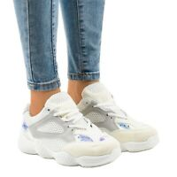 Chaussures de sport blanches MS522-9
