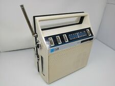 Vintage Elgin Am- Fm Stereo 8 Track Player Ac/Dc folding boom box - works -Read