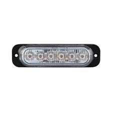 Autosound LED Flashing Warning Light Amber 18W 10-30V Surface Mount