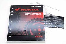 New Service Manual 2003-2014 CRF230F OEM Honda Shop Repair Maintenance Book #O02