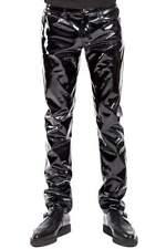 Tripp NYC Mens Vinyl Pants PVC Trousers Gothic Fetish Club Shiny Glossy