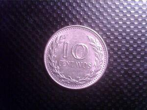 COLOMBIA   10  CENTAVOS   1974   OCT10