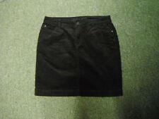 """Indigo Colección Mini falda de cintura 30"""" longitud 18"""" Marrón Damas Mini Falda Del Cordón"""