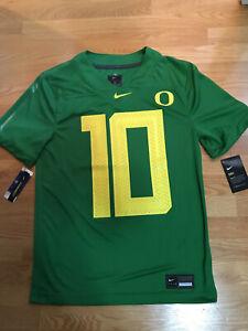NWT Nike Oregon Ducks #10 Green Football Jersey (Men's S, M, L)