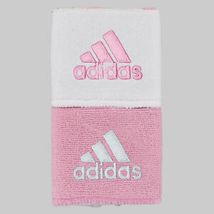 Adidas Interval Reversible Wristband - Pink / White (NEW)