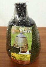 New listing Luau Bamboo Torch Tabletop Decoration Candle Lites Handcrafted