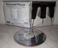 CD KRZYSZTOF MEYER - 24 PIANO PRELUDES