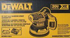 DEWALT 20V Brushless Cordless Random Orbital Sander with Bag (Battery Included)