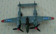 Die-cast Military Vintage Duel Prop Toy Airplane with Horizontal Stabilizer