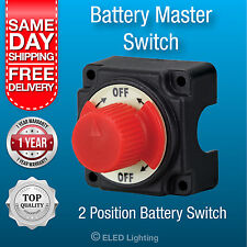 Battery Master Switch Boat Marine Caravan Kill Switch Isolator 12v & 24v 250 Amp