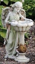 """Angel Birdbath Statue 23"""" indoor outdoor garden Statue Lawn Patio Sculpture"""