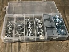 "96pcs moulding trim clips & nuts assortment - 3/4"" fits dodge plymouth"