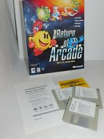 Microsoft The Return Of Arcade Computer Game Pac-Man Galaxian Dig-Dug