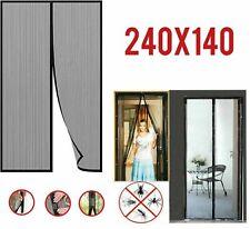 Zanzariera Magnetica Tenda 240x140 cm per porte finestre zanzare mosche magneti