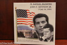 A Nation Mourns John F Kennedy Jr 1999 Republic of Liberia $5 Copper Nickle coin