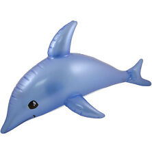 Blow-up Dolphin Inflatable Kid's Party Pool Beach Fun Fancy Dress Play 53CM Fish
