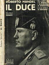 LIBRI - Il Duce (Roberto Mandel)