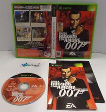 Game Console Gioco Microsoft XBOX PAL ITA James Bond 007 DALLA RUSSIA CON AMORE