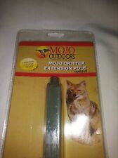 NEW MOJO OUTDOORS CRITTER PREDATOR DECOY EXTENSION POLE.