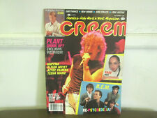 Creem Magazine September 1985 with Robert Plant on the cover - Sting Poster