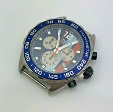 TAG Heuer 2000s Formula 1 Quartz Chronograph GULF Mens Wristwatch CAZ101N