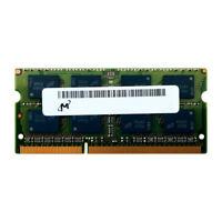 MICRON MT16KTF51264HZ-1G4 4GB 2Rx8 PC3L-10600 1333MHz 1.35V LV LAPTOP MEMORY RAM