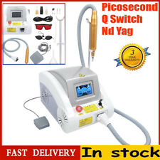 Q-Switch ND Yag Laser Tattoo Removal Spot Embroider Eyebrow Picosecond Machine