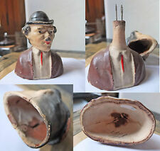 Vintage toy, Charlie Chaplin 9 CM, HAID MOVING, BISCUIT ???