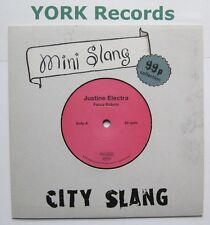"JUSTINE ELECTRA - Fancy Robots - Ex Con 7"" Single City Slang SLANG 5040497"