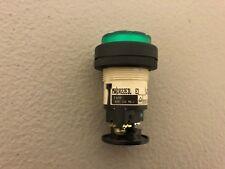 USED FUJI GREEN INDICATOR PILOT LIGHT DR22E3L E3