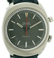 Omega Geneve Chronostop Ref 145.009 Vintage Herrenuhr Kaliber 865