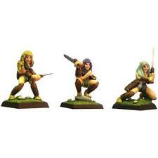 FENRYLL Sylvan guerreros X 3 figuras femeninas
