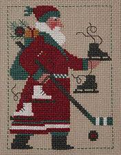 2009 Yearly Santa Prairie Schooler Cross Stitch Pattern