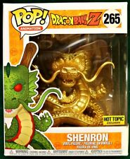 SHENRON (GOLD) #265 Dragonball Z 6-inch Funko Pop HOT TOPIC EXCLUSIVE!
