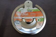 Range Kleen Electric Range 1 Large Style D Heavy Duty Chrome Plated Drip Pan NEW