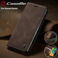 Fr Huawei Mate 30 P30 P20 Pro Lite Leather Magnetic Flip Wallet Stand Case Cover